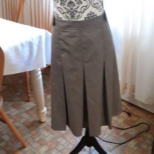 Apostrophe brown skirt